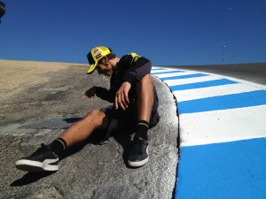 Valentino - Laguna Seca. Czego on tam szuka